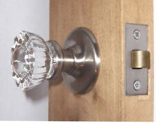 Early American Crystal Knobs~Brushed Nickel Modern Precision Hardware~Real Value