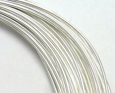 1 oz STERLING SILVER Round Wire, HH or DS, Choose Gauge