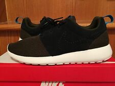 New NIKE ROSHE RUN Mens Dark Loden / Midnight / Turquoise / Black 511881-303