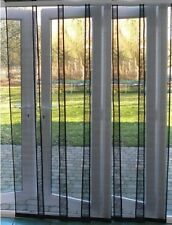 Flyscreen Insect Screen Panel Screen Charcoal 74/100/120/150/170/200cm wide