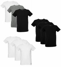TOMMY HILFIGER MENS 3-PACK STRETCH COTTON CREW NECK T-SHIRTS - 100% AUTHENTIC