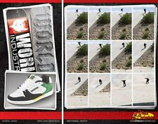 WORLD INDUSTRIES Skateboard Shoes 1 UK / 2 USA - Assorted Styles & Colours