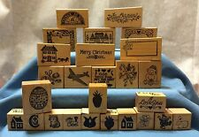 Vintage 1983-1987 Personal Stamp Exchange PSX Rubber Stamps 23 to Choose From