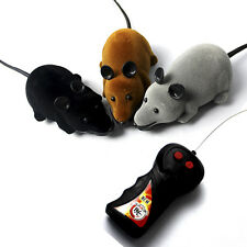 Funny RC Mouse Funny Wireless Remote Control Rat Mouse Toy For Cats Dogs Pet Toy