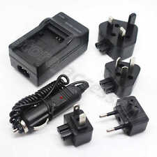 AC/DC Wall+Car Camera Charger Adapter For Samsung IA-BP105R IA-BP210E Battery