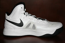 New! Womens NIKE HYPERFUSE Basketball Shoes White/Black