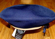 Mens Classic  Kangol  Tropic  Monty  Military  Beret  Color  Navy