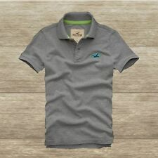 HOLLISTER by Abercrombie MEN`S POLO T-SHIRT Wipeout Beach NEW SIZES: SM, L, XL