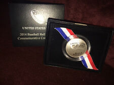 Baseball Hall of Fame US  Mint 2014  Commemorative Uncirculated Half Dollar Coin