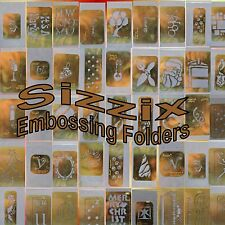 Sizzix Provo Craft Ellison Scrapbooking Embossing Folders Crafts Your Choice NIP