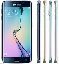 "Samsung Galaxy S6 Edge SM-G925 (FACTORY UNLOCKED) 5.1"" QHD Black / White"