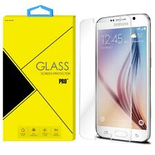 Premium Real Clear Tempered Glass Screen Protector for Samsung Galaxy S6/S6 Edge