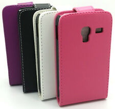 Protective Leather Flip Case Cover For Samsung Galaxy ACE Plus S7500