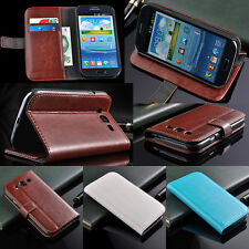Luxury PU Leather Case Skin Cover Stand For Samsung Galaxy Grand DUOS i9082