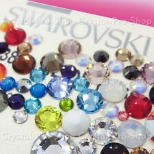 16ss Genuine Swarovski Hotfix Iron On Rhinestone nail Crystal 4mm ss16 OPAL