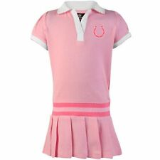 Indianapolis Colts Infant Girls Pleated Sundress - Pink - NFL