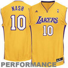 Steve Nash Los Angeles Lakers adidas Replica Home Jersey - Gold - NBA