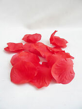 300 pieces white red fuchsia loose silk artificial rose petal flowers