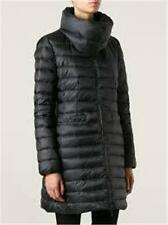 "Moncler Black ""Vernois"" Nylon Down Feather Collar Puffer Parka Jacket Coat $1295"