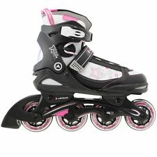 Airwalk Kids Jewel Inline Skates Girls Roller Skating Shoes Rollers