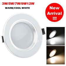 Dimmable Bombilla 3W 5W 7W 9W 12W LED Recessed Ceiling Panel Spot light Lamp Kit