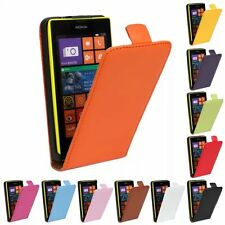 For Nokia Fashion Magnetic PU Leather Flip Vertical Case Skin Cover