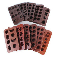 Silicone Various Shape Chocolate Cake Sugar Candy Fondant Mold Jelly Baking