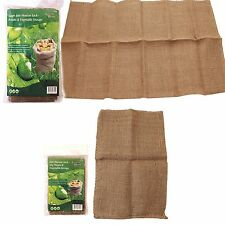 Jute Hessian Sacks 5kg / 50kg Potato Storage Sacks Easy Carry Veg Storage Bags