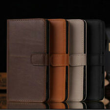 Luxury Flip Wallet Leather Stand Case Cover For Sony Xperia Series Phone