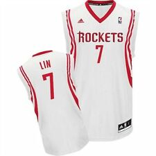 Jeremy Lin Houston Rockets adidas Youth Replica Home Jersey - White - NBA