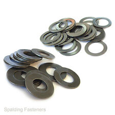 M8 M10 M12 Self Colour Shim Washers 0.5  1  & 0.5MM Thick Choose Your Size & QTY