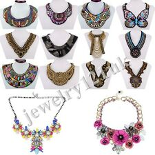 Fashion new Jewelry Pendant Chain Crystal Choker Necklace 29 kinds can choose
