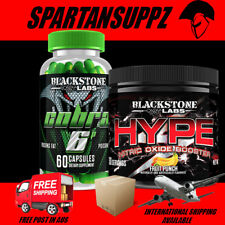 Blackstone Labs COBRA 6p 60 Capsules & HYPE Cutting Stack | Dust Extreme Dust v2
