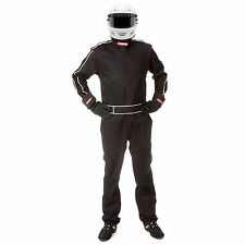 Pyrotect Sportsman Deluxe Black One Piece 3 Layer SFI-5 Car Auto Racing Suit