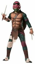 TEENAGE MUTANT NINJA TURTLES MOVIE DELUXE RED RAPHAEL BOYS HALLOWEEN COSTUME