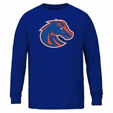 Youth Boise State Broncos Royal Blue Core Logo Long Sleeve T-Shirt - College