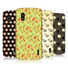 HEAD CASE PATTERN DI ANIMALI CASE PER LG NEXUS 4 E960