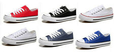 Men Women sweethearts Low shallow mouth Canvas shoes Students single shoes S-012