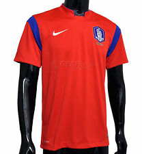 New Nike Official South Korea Soccer Jersey Mens - 2014/15 Home Red
