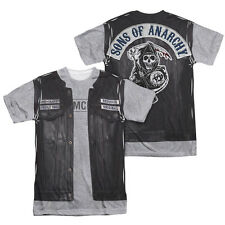New Mens Sons of Anarchy Unholy Costume Vibrant Sublimation T-Shirt S-3XL