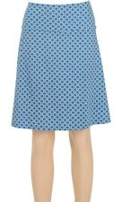 King Louie Rock Border-Skirt Cartouche Blau Retro blue deep sky 5105616