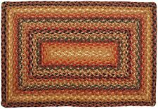 Homespice Timber Trail Rectangle Braided Jute Area Rug