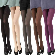 new Opaque Footed Tights Sexy Women's Pantyhose Stockings Socks Colours