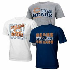 Chicago Bears Youth Game Day 3-Pack T-Shirt Set - Navy Blue/White/Gray