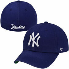 New York Yankees '47 Brand Franchise Fitted Hat - Blue