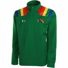 Hawaii Warriors Under Armour Green Event Star Spangled 1/4 Zip Pullover