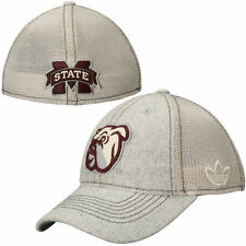 Mississippi State Bulldogs adidas Heritage Hall Slope Flex Hat – Gray