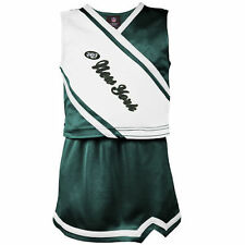 New York Jets Preschool Girls Team Spirit 2-Piece Cheerleader Set - Green/White