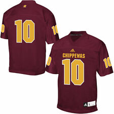Central Michigan Chippewas adidas Chase Master Jersey - Maroon - College
