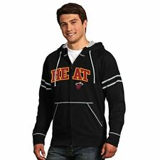 Miami Heat Antigua Velocity Full Zip Hoodie - Black - NBA